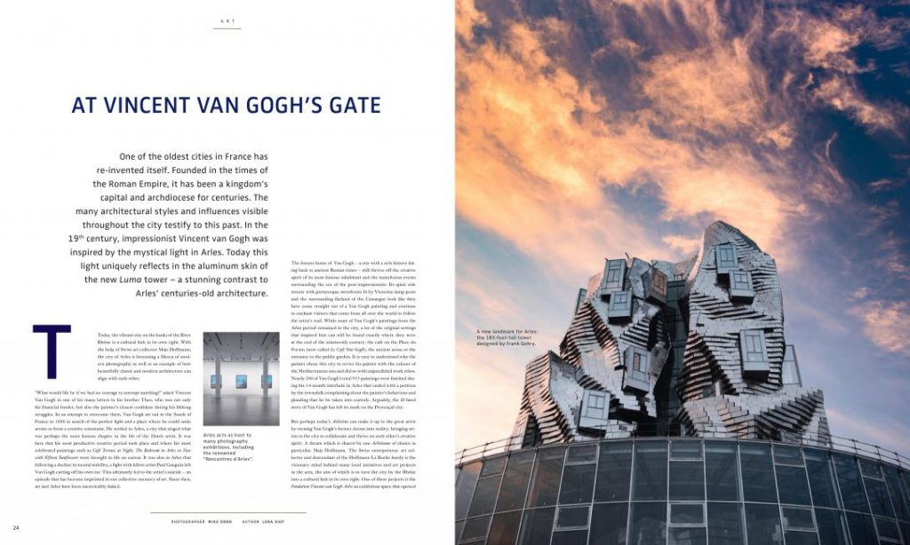 Arles ettore Vincent van Gogh Maja Hoffmann Reise Lifestyle Autorin Lena Siep