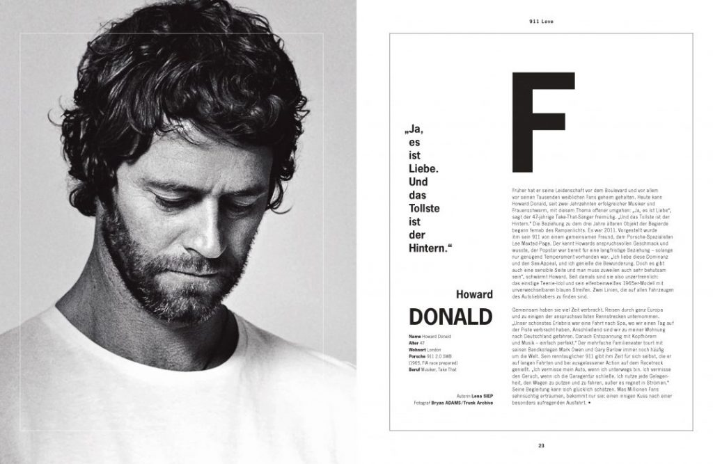 Howard Donald Take That Lena Siep Autorin Christophorus Porsche Moderatorin