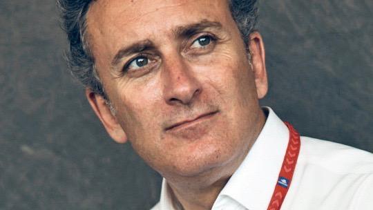 Alejandro Agag Lena Siep Formel E Autorin Christophorus Porsche Motorsport Moderatorin Interview