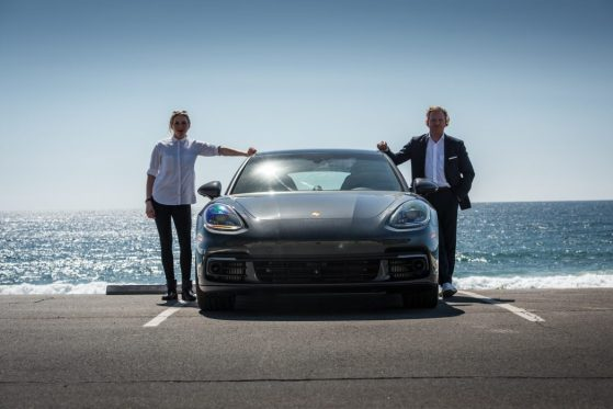 Daniel Hope Lena Siep Christophorus Porsche Panamera Kalifornien