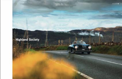 Glamis Castle Porsche Christophorus Lena Siep Autorin Schottland