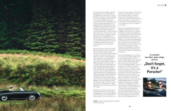 Glasmis Castle Earl of Strathmore Sam Bowes Lyon Lena Siep Autorin Christophorus Porsche Schottland