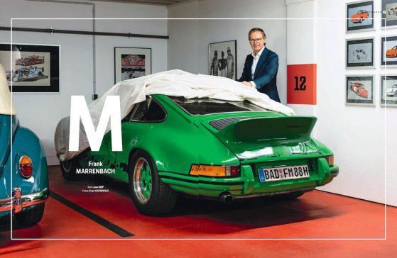 Lena Siep Frank Marrenbach Porsche Christophorus Moderatorin Journalistin Automobil Automotive Feature Motorsport