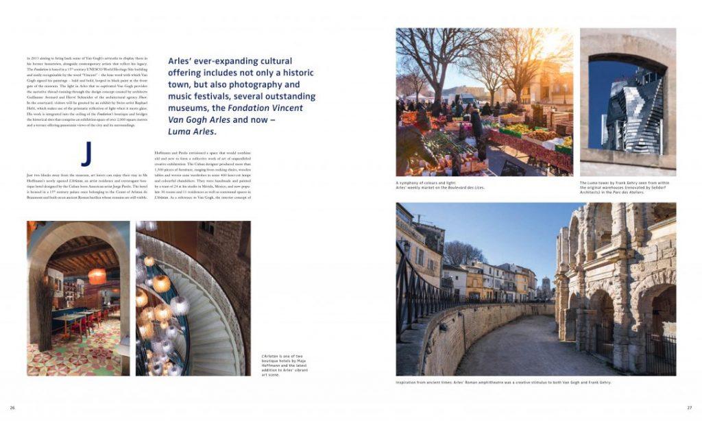 Luma Arles Lena Siep Bugatti Maja Hoffmann Vincent van Gogh