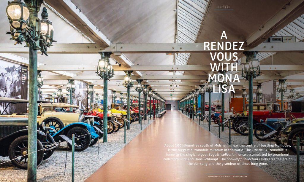 Bugatti Collection Schlumpf Lena Siep Autorin Moderatorin Musee de l'Automobile Mulhouse