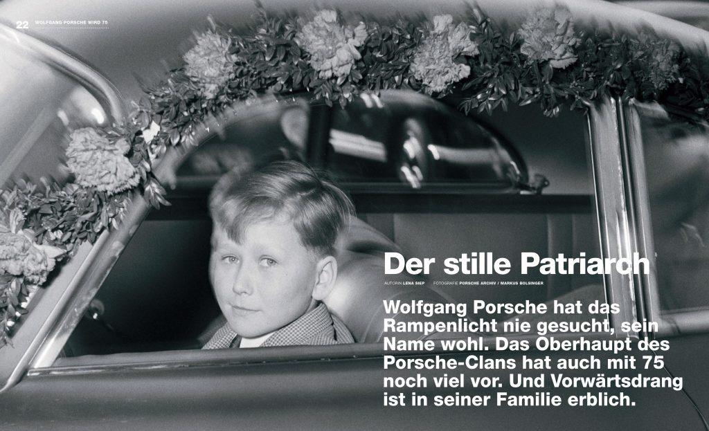 Wolfgang Porsche Porsche Klassik Lena Siep Autorin